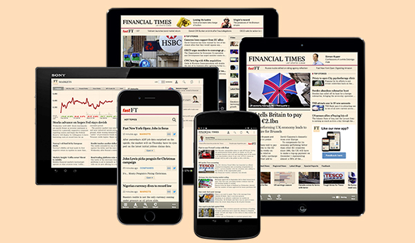 FT mobile apps