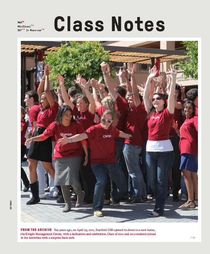 Cover of the Spring 2021 issue of Class Notes