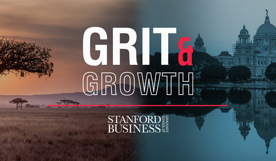 Grit & Growth Podcast with Stanford Graduate School of Business
