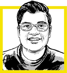 Rajan Patel, MBA '16. Credit: Agata Nowicka