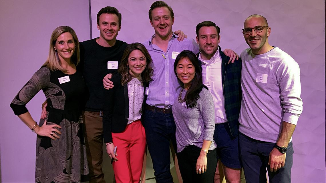 A photo of the Bay Area Recent Alumni Ambassadors