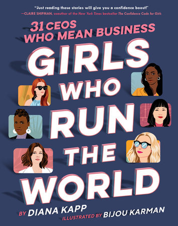 Book cover - Girls Who Run the World