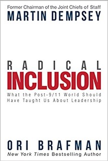Book cover - Radical Inclusion: What the Post-9/11 World Should Have Taught Us About Leadership