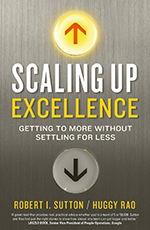 Book cover for Scaling Up Excellence