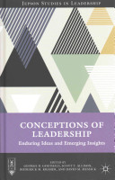 Book cover for Conceptions of Leadership