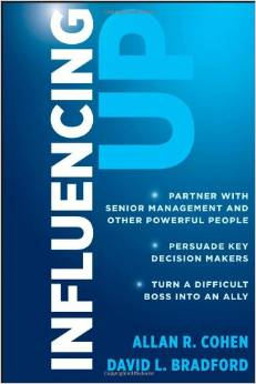 Book cover for Influencing Up