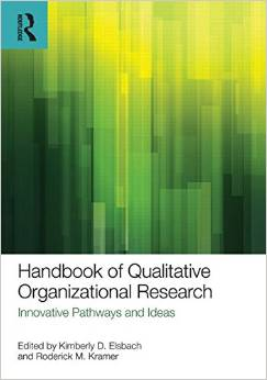 Book cover for Handbook of Qualitative Organizational Research