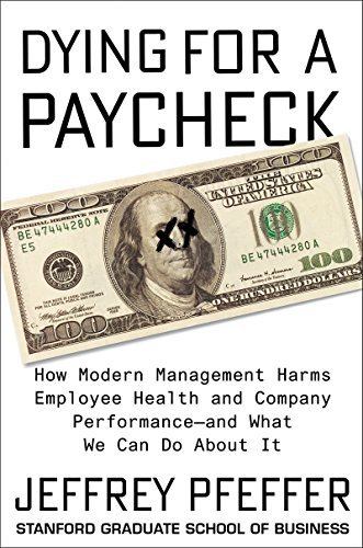 Book cover for Dying for a Paycheck