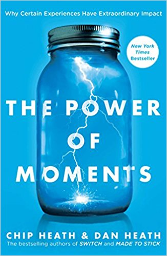 Book cover for The Power of Moments