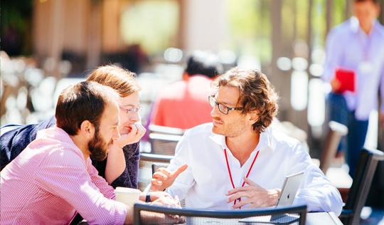 Executive education participants