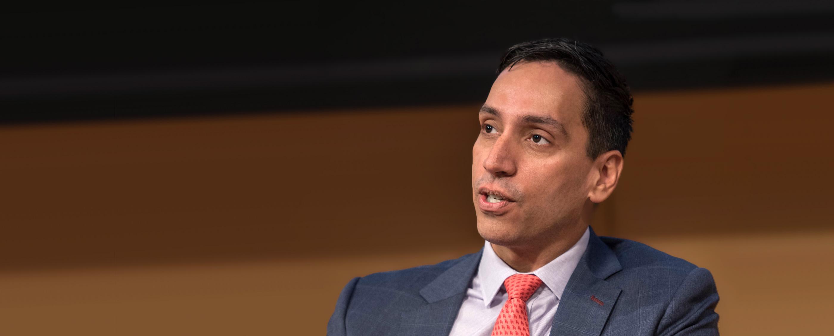 José E. Feliciano, MBA '99. Credit: Joe Bradwell