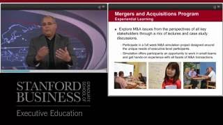 Preview: Mergers and Acquisitions Program