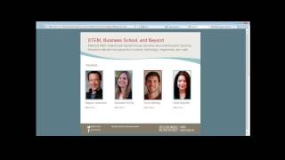 STEM, Business School, and Beyond