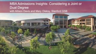 MBA Admissions Insights: Considering a Joint or Dual Degree
