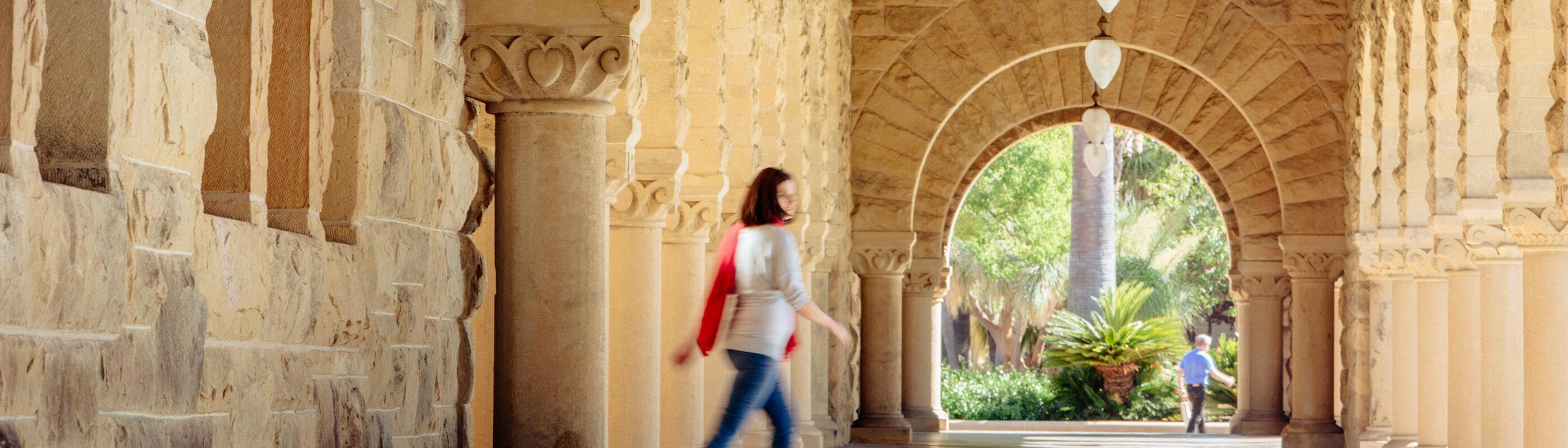 Photo of Stanford quad