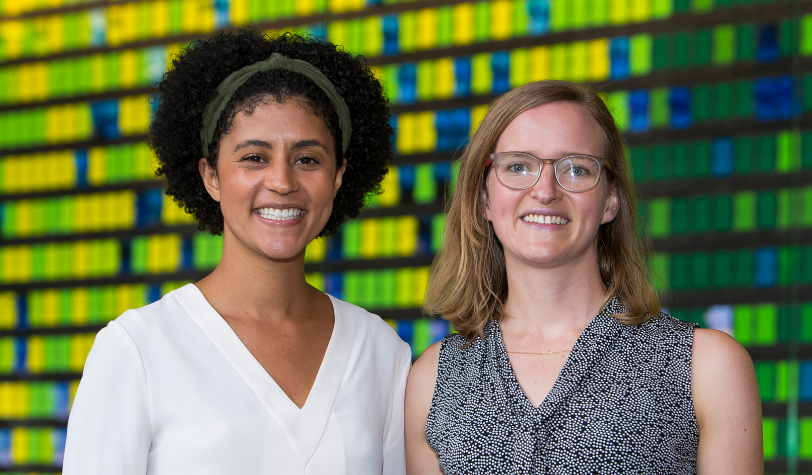 2019 Social Innovation Fellowship recipients Christina Guilbeau and Karin Underwood Credit: Stacy Geiken