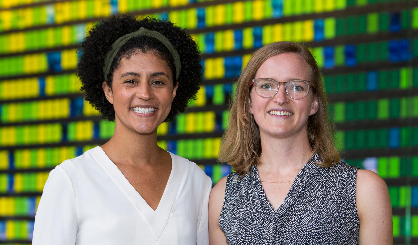2019 Social Innovation Fellowship recipients Christina Guilbeau and Karin Underwood Credit: Stacy Geiken