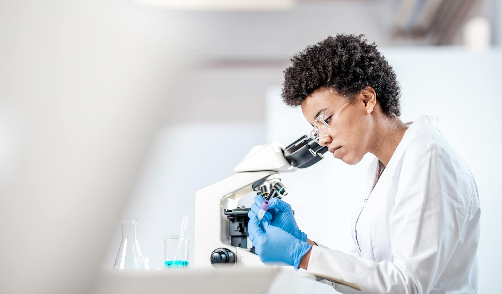 Young Scientist Working in The Laboratory. Credit: iStock/sanjeri