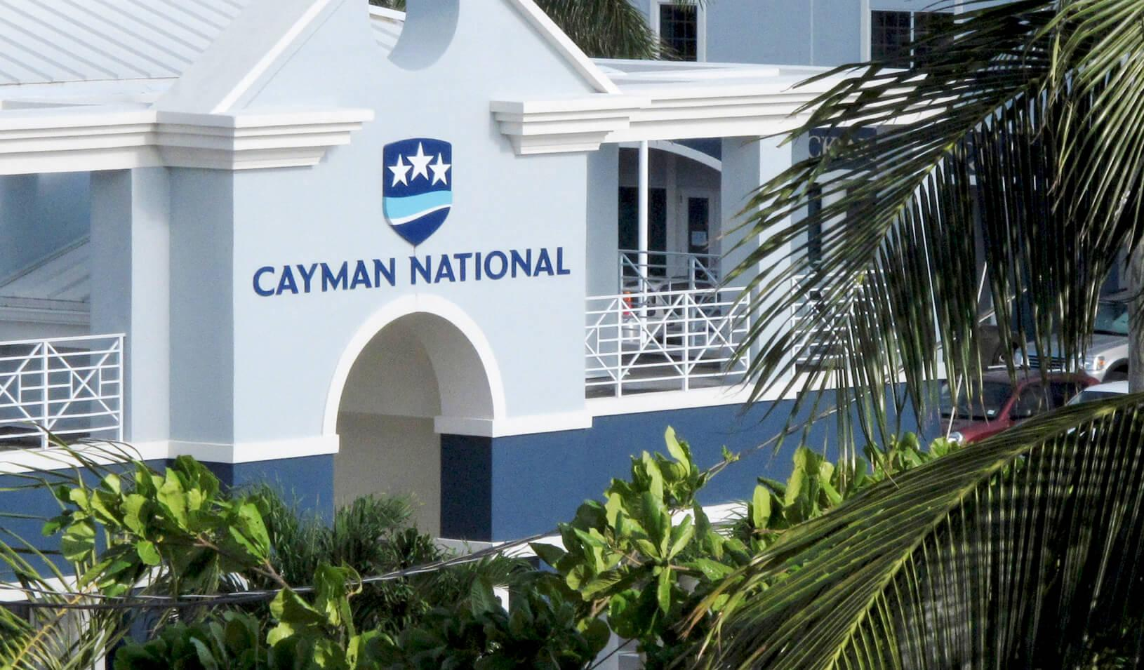 Cayman National Bank is pictured in George Town, Cayman Islands. Credit: Reuters/Gary Hershorn