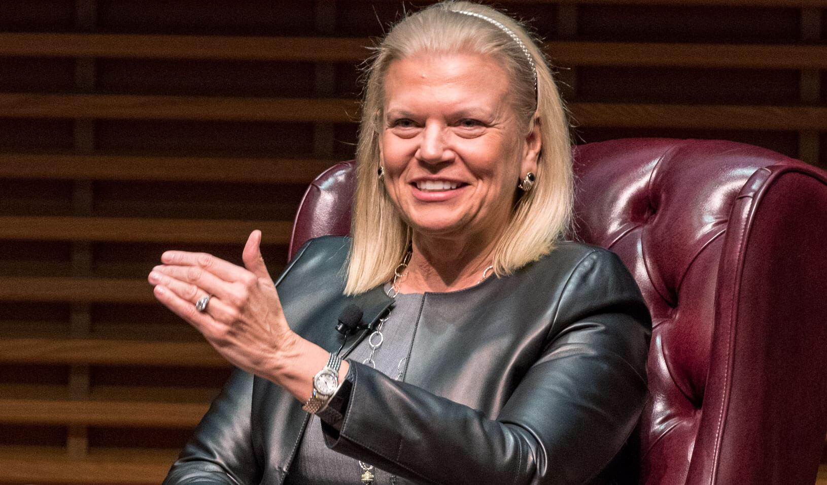 Ginni Rometty   Photo by Javier Flores