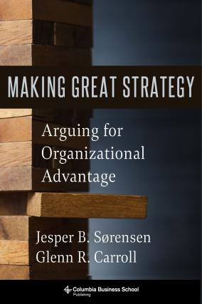 book cover for Making Great Strategy