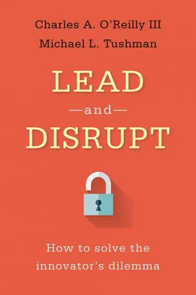 Book cover for Lead and Disrupt