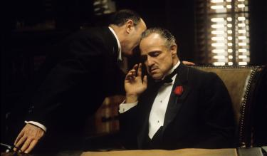 A still from the movie The Godfather. Credit: Getty Images/Steve Schapiro