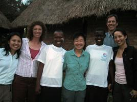 ACT team in Africa