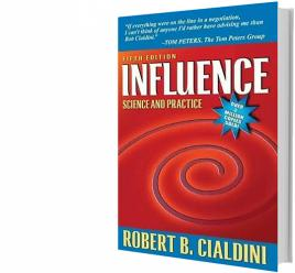 """Cover of """"Influence: Science and Practice"""""""
