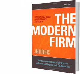 """Cover of """"The Modern Firm"""""""