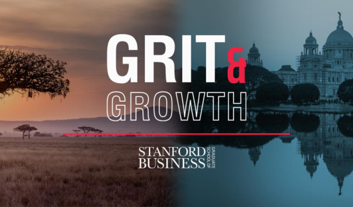 Grit & Growth Podcast with Stanford GSB