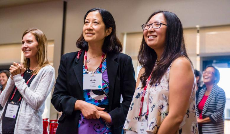 On Sept. 8 and 9, 2017, group co-leaders and regional team leaders gathered on campus to attend the first Stanford GSB Women's Circles Leadership Summit.   ToniBird Photography