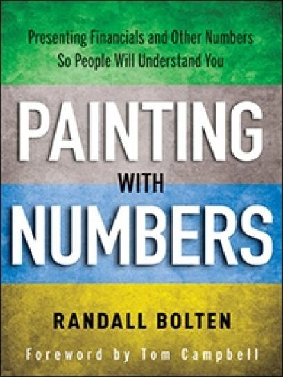 Cover of the book, Painting with Numbers