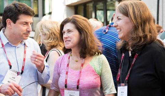 Stanford GSB alumni at a reunion event