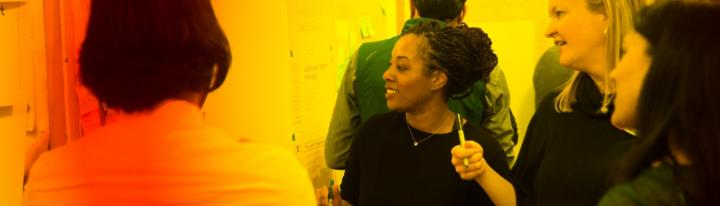 Participants in the Design Thinking Bootcamp program