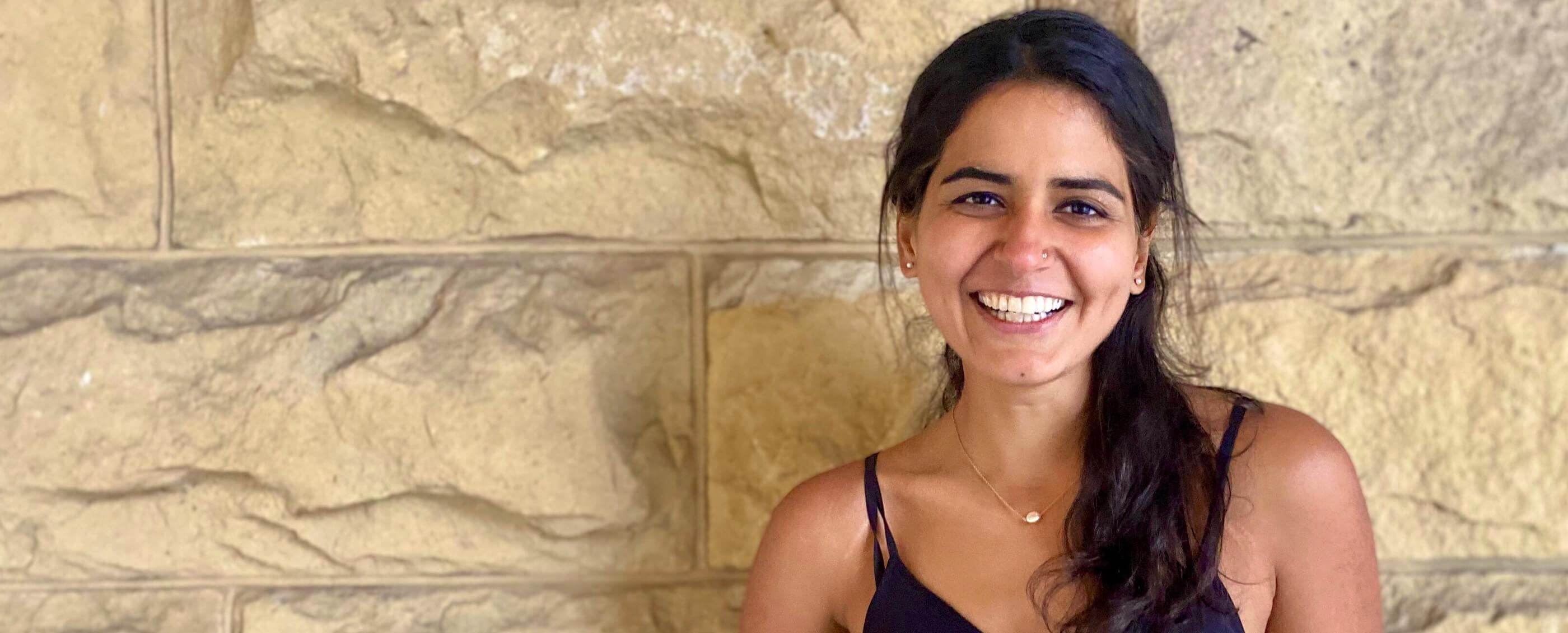 Areeba Kamal, MBA '21. Photo by Jenny Zhou (GSB 2021)