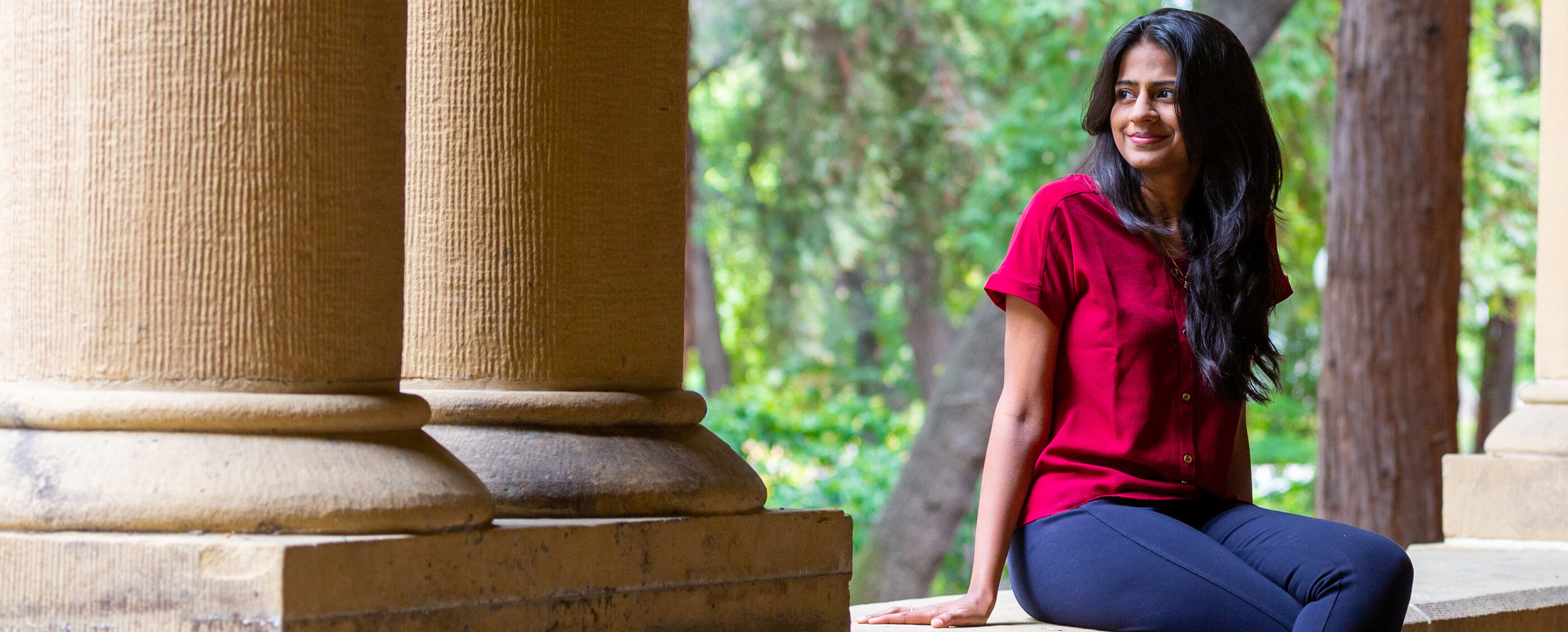 Chaitra Yarlagadda, MBA '19. Credit: Kiefer Hickman