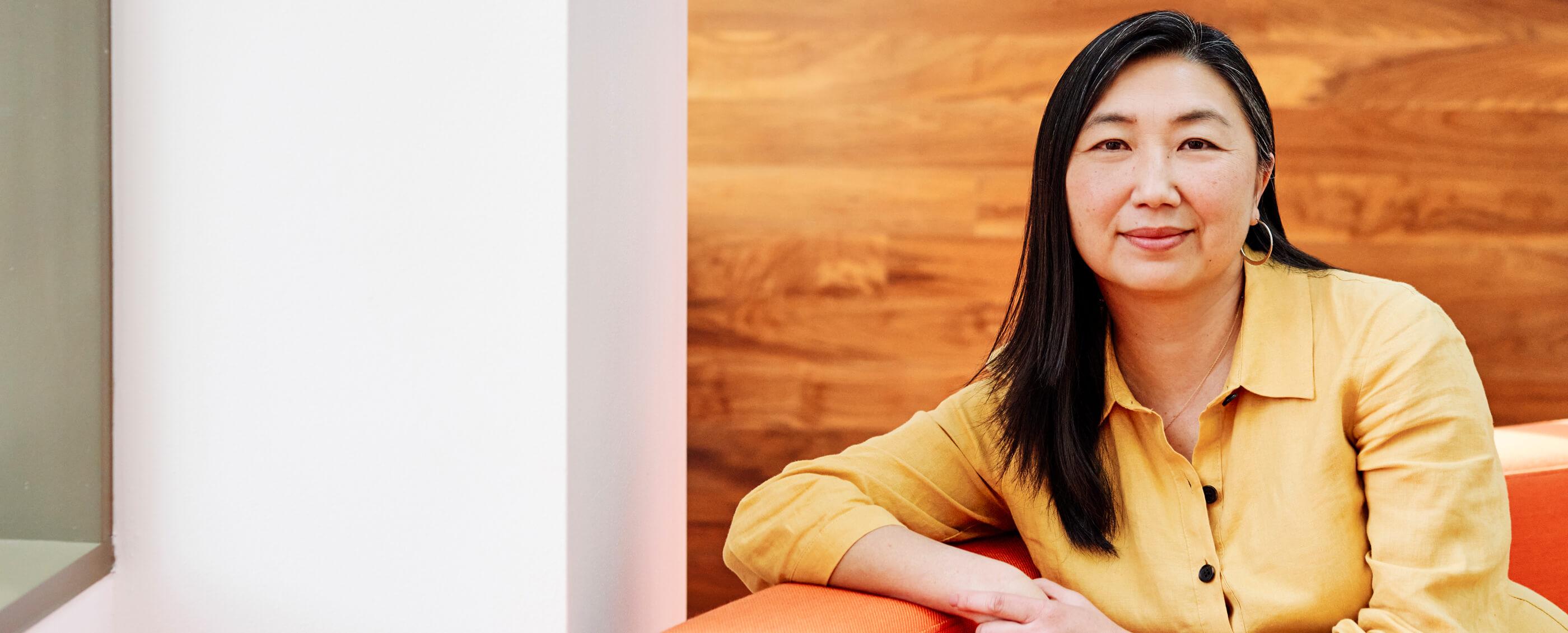 Grace Kim, MBA '99. Credit: Cara Robbins