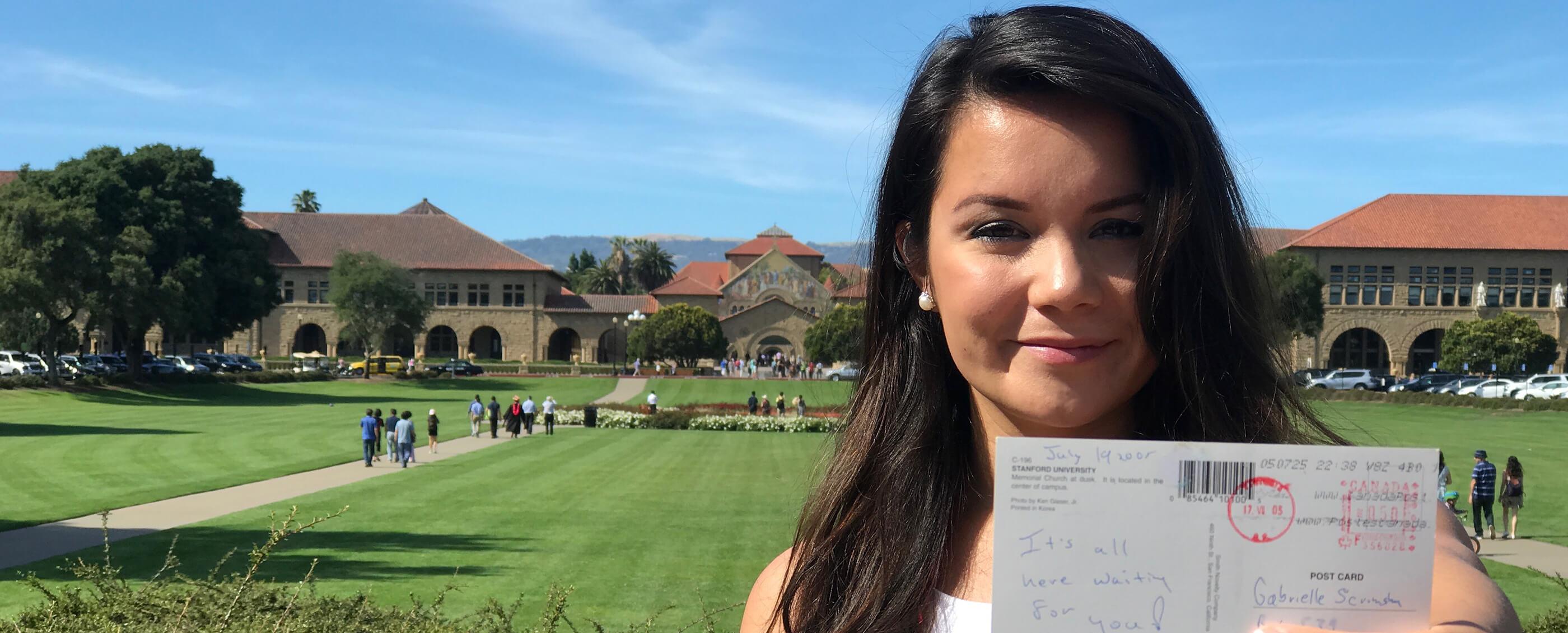 Gabrielle Scrimshaw, MBA '17 | Yuri Sagalov