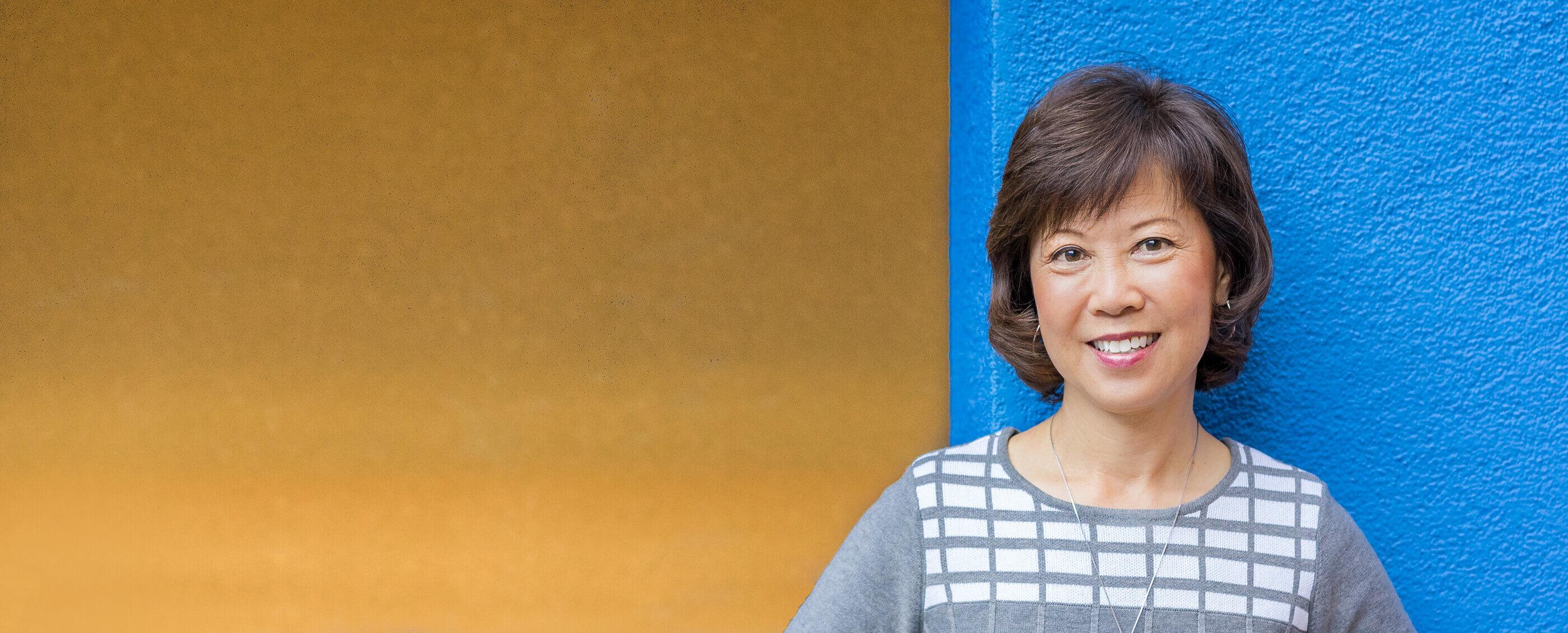 Denise Peck, MBA '85. Credit: Camilla Ekenheim