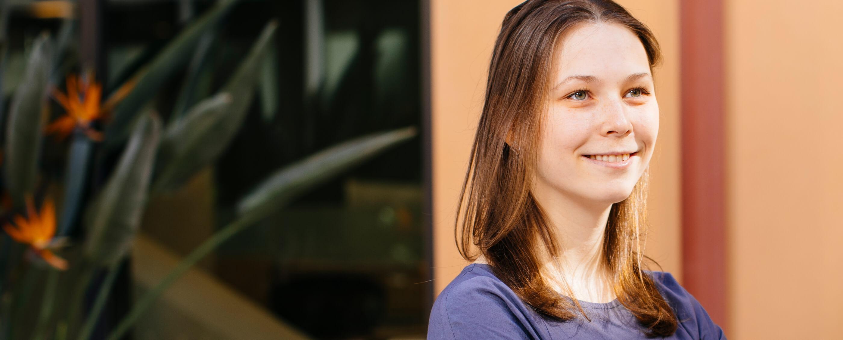 Nadia Kotova, PhD '21 | Photo by Elena Zhukova