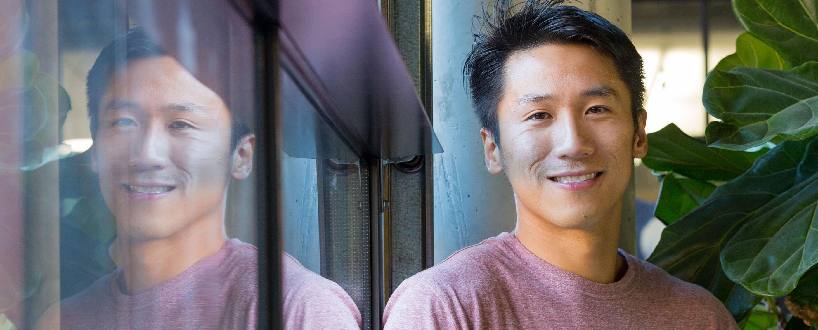"Xiaoye ""MD"" Ma, MBA '18. Credit: Kiefer Hickman"