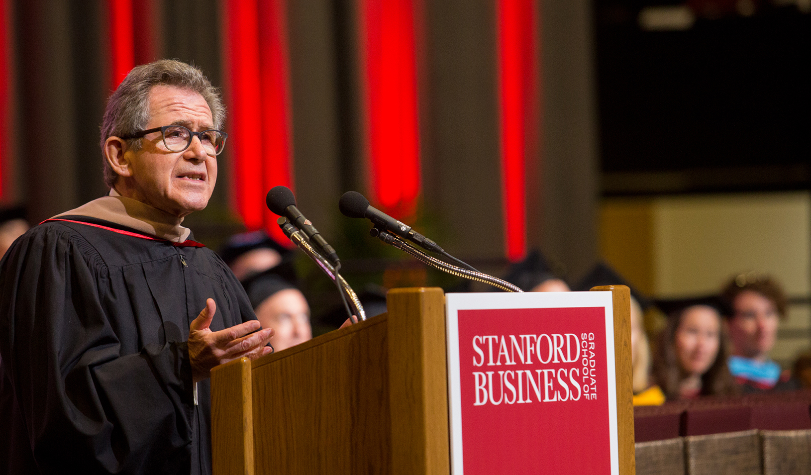 Lord Browne of Madingley, MS '81 and former CEO of BP. Credit: Saul Bromberger