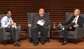Dean Jonathan Levin in Conversation with Jim Ellis and Irv Grousbeck