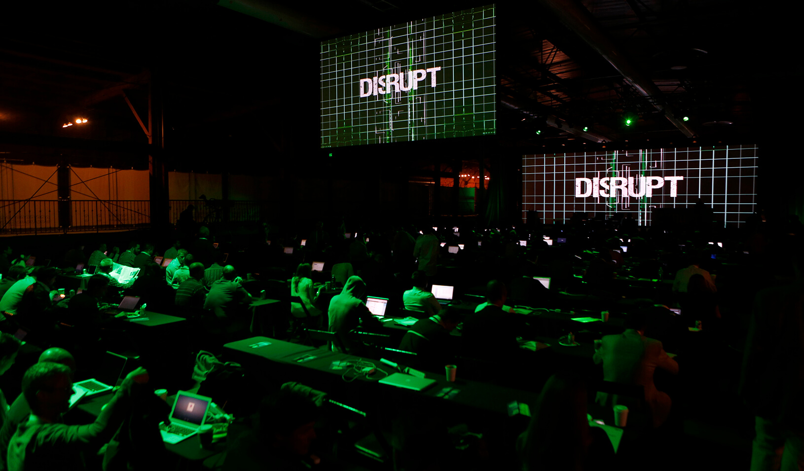 The Tech Crunch Disrupt conference in San Francisco, California.  | Reuters/Beck Diefenbach