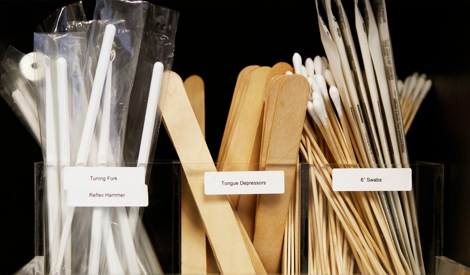 Medical supplies arranged on a shelf | Reuters/Lucas Jackson