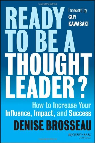 book cover for Ready to Be a Thought Leader?