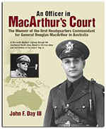 book cover of An Officer in MacArthur's Court