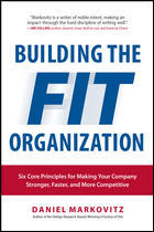 book cover - Building the Fit Organization