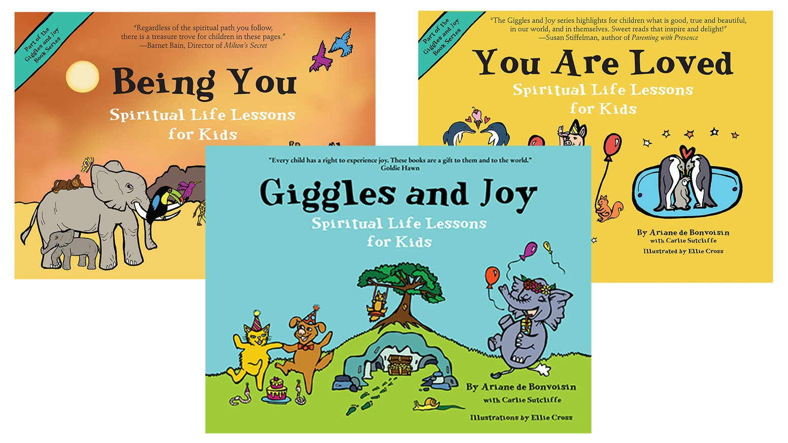 Book cover - Giggles and Joy: Spiritual Life Lessons for Kids